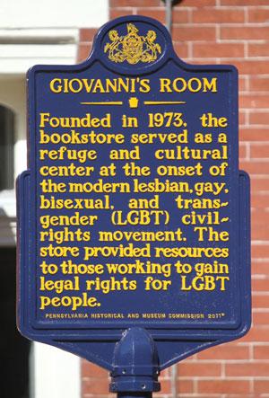 Giovanni's Room Historic Marker
