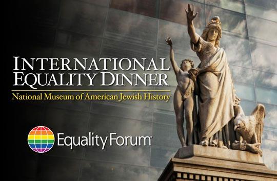 Event - International Equality Dinner | Equality Forum